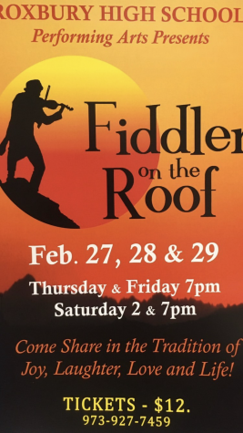 Fiddler on the Roof, Coming February 27th, 28th & 29th