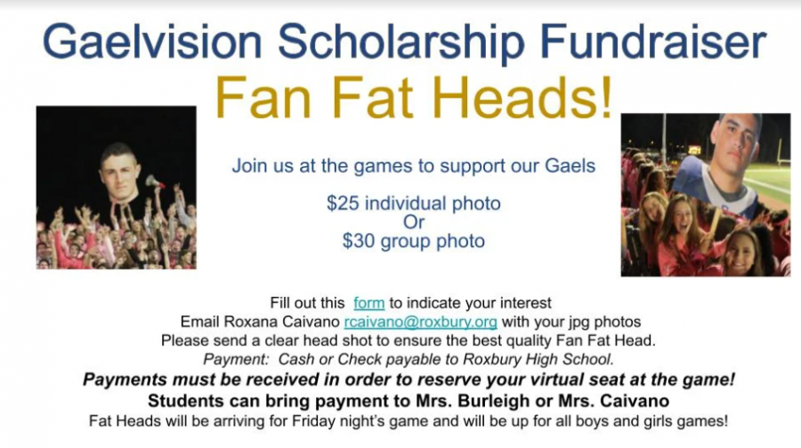 Gaelvision Scholarship Fundraiser: Fan Fat Heads